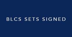 BLCS Sets Signed