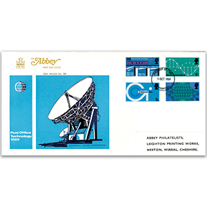 1969 Post Office Technology - Abbey Cover