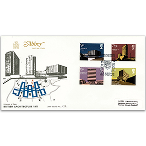 1971 Modern University Buildings - Abbey Cover