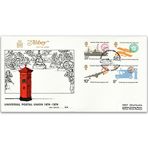 1974 Universal Postal Union Centenary - Abbey Cover