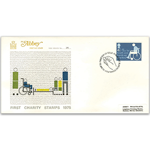 1975 Charity Stamp - Abbey Cover