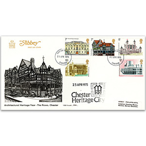 1975 Architectural Heritage Year - Abbey Cover