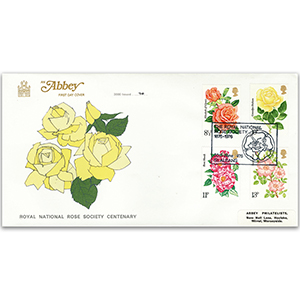 1976 Roses - Abbey Cover - St. Albans Royal National Rose Society