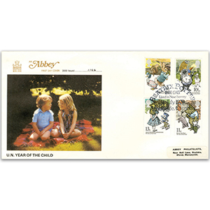 1979 Year of the Child 'Beatrix Potter' - Abbey Cover