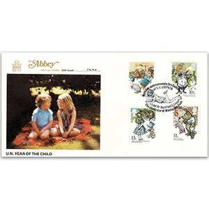 1979 Year of the Child 'Winnie the Pooh' - Abbey Cover