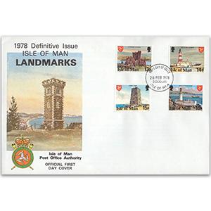 1978 Isle of Man - Landmarks Definitive Issues