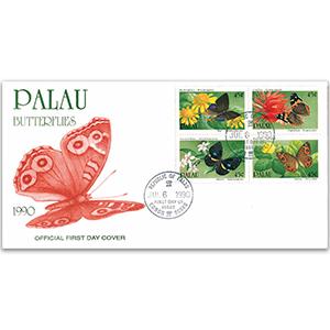 1990 Palau Butterflies
