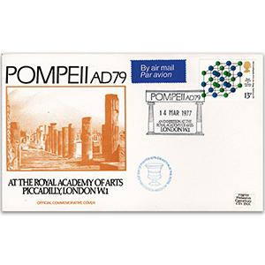 1977 RICS 100th - Pompeii - Pilgrim cover