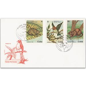 1984 Cuba Wildlife