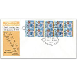 1985 Marshall Islands Definitive Booklet: Maps & Navigation