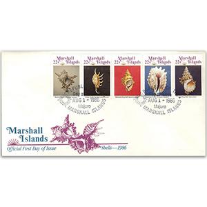 1986 Marshall Islands Shells