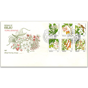 1987 Palau Floral Definitives