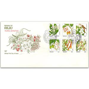 1987 Palau Floral Definitives