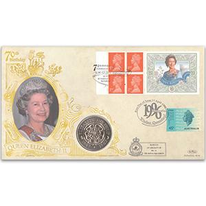 1996 HM The Queen's 70th Birthday - Windsor U.K. & Windsor Australia