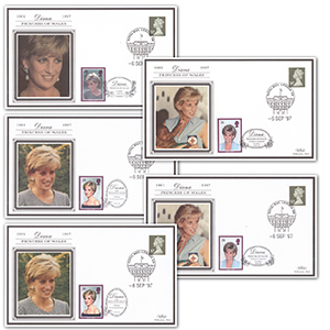 U.K. 1997 Diana Princess of Wales (set)
