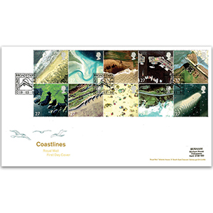 2002 Coastline Broadstairs Kent handstamp