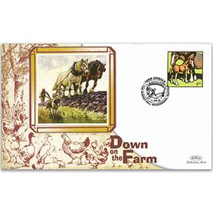 2005 Farm Animals - Woodbridge, Suffolk handstamp