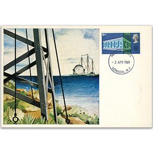 1969 Europa Postcard