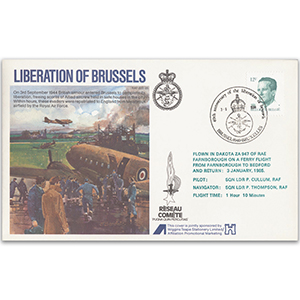 1984 RAFES Liberation of Brussels - Flown