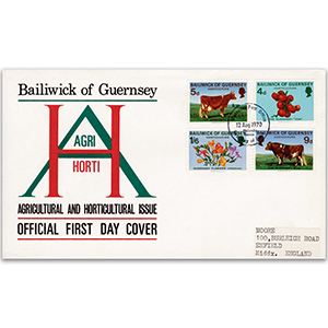 1970 Guernsey - Agriculture & Horticulture official