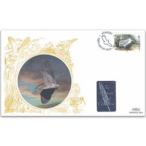 2003 Falkland Islands - Black Crowned Night Heron