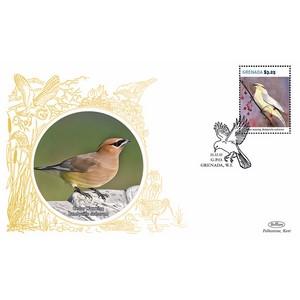 Grenada Birds - Cedar Waxwing