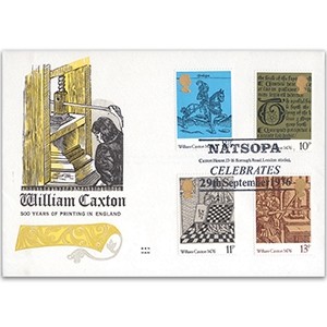 1976 William Caxton Benham Engraved Cover