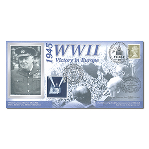 2005 End of World War II: VE-Day 60th Benham 100 Cover