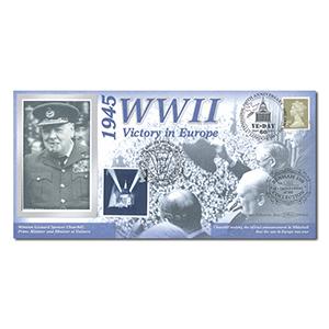 2005 End of World War II: VE-Day 60th Benham 100 Cover