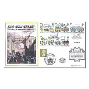 2005 Liverpool & Manchester Railway 175th Anniversary Benham 100 Cover