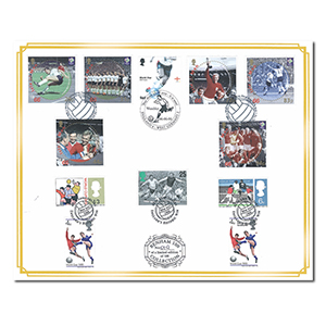 2006 England World Cup Winners 40th Benham 100 Cover