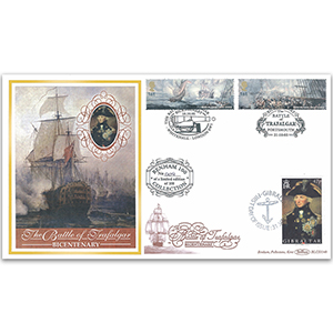 2005 Battle of Trafalgar 200th Benham 100 Cover