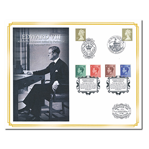 2006 Abdication Edward VIII 70th Anniversary Benham 100 Cover