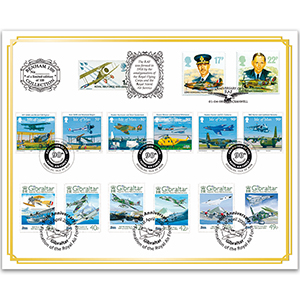 2008 RAF 90th Anniversary Benham 100 Cover