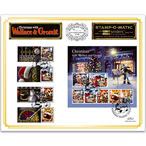 2010 Christmas - Wallace and Gromit Benham 100 Cover