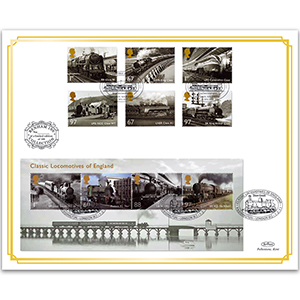 2010 Great British Railways - Doubled 2011 Classic British Locos Benham 100 Cover