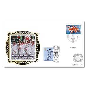 2011 England's Cricket Heroes Benham 100 Cover
