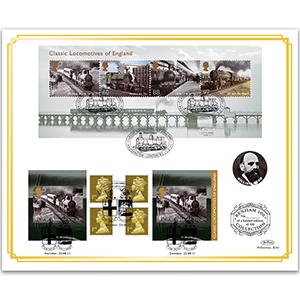 2011 Classic Locomotives of England Benham 100's cover
