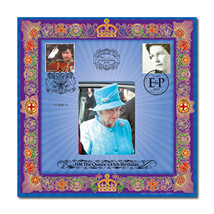 2011 Queen's 85th Birthday Benham 100 - Doubled Official Birthday