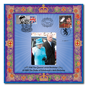 2011 Queen's 85th and Duke's 90th Benham 100 Cover