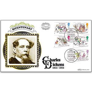 2012 Charles Dickens 200th Benham 100 Cover