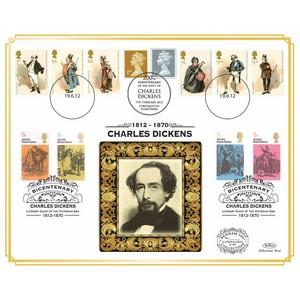 2012 Charles Dickens Bicentenary Benham 100 Cover