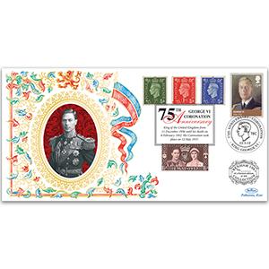 2012 75th Anniversary of George VI Coronation Benham 100