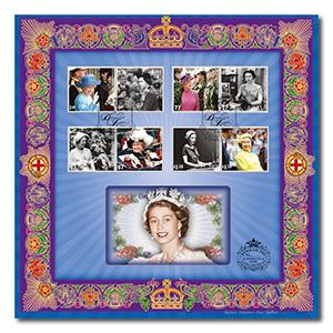 2012 Queen's Diamond Jubilee Benham 100 Cover