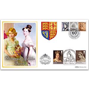 2012 Diamond Jubilee Queens Benham 100 Cover