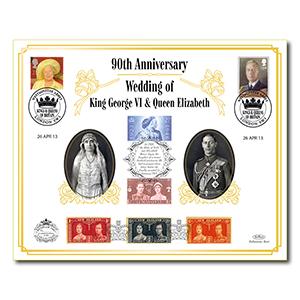 2013 Wedding of George VI & Elizabeth 90th Anniversary