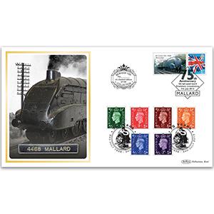 2013 Mallard Locomotive 75th Anniversary Benham 100 Cover