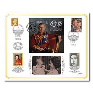 2013 Prince Charles' 65th Birthday Benham 100 Cover