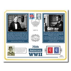 2014 World War II 75th Anniversary Benham 100 Cover