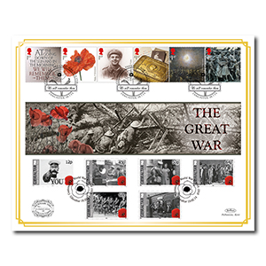 2014 Centenary of WWI Benham 100 Cover